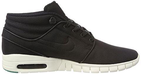 Nike SB Stefan Janoski Max Mid Men's Skateboarding Shoe - Black Image 13
