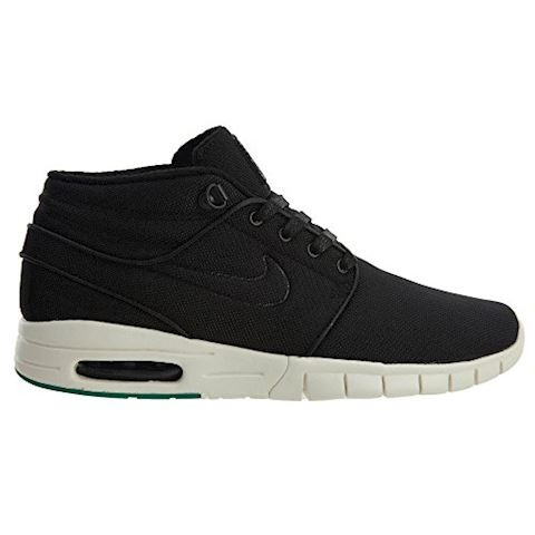 Nike SB Stefan Janoski Max Mid Men's Skateboarding Shoe - Black Image 2
