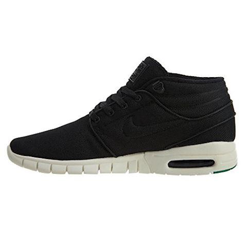 Nike SB Stefan Janoski Max Mid Men's Skateboarding Shoe - Black Image 4