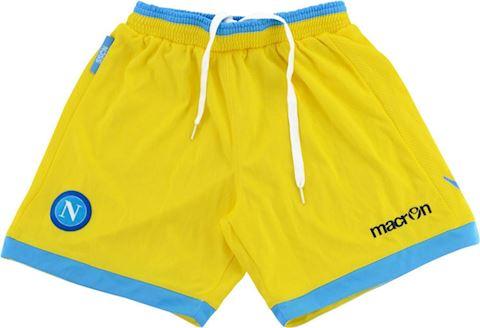 Macron Napoli Kids Third Shorts 2013/14 Image