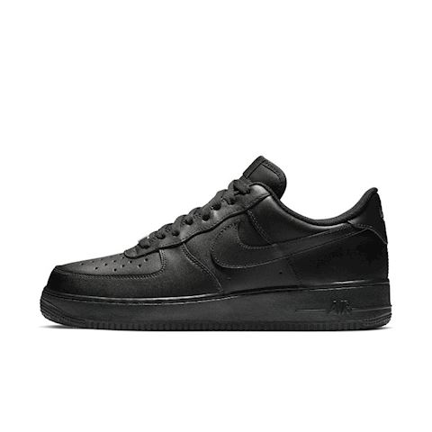 Nike Air Force 1' 07 Men's Shoe - Black Image