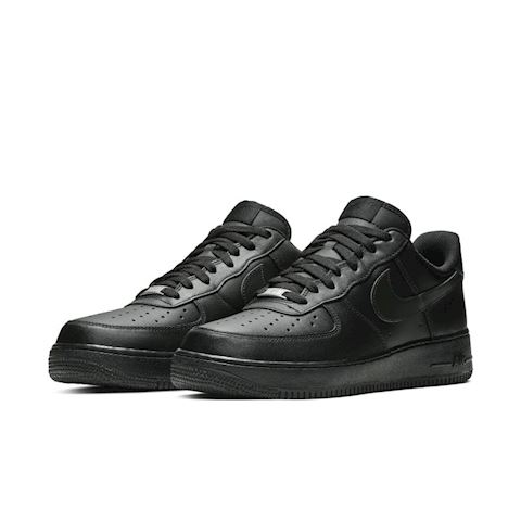 Nike Air Force 1' 07 Men's Shoe - Black Image 2