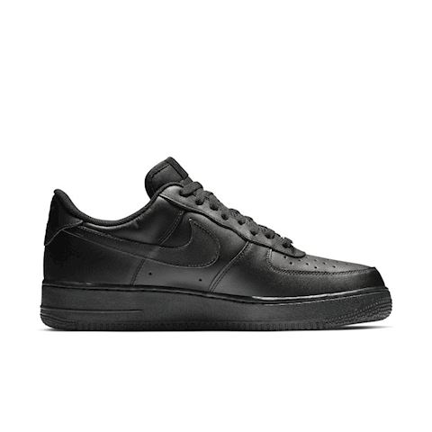 Nike Air Force 1' 07 Men's Shoe - Black Image 3