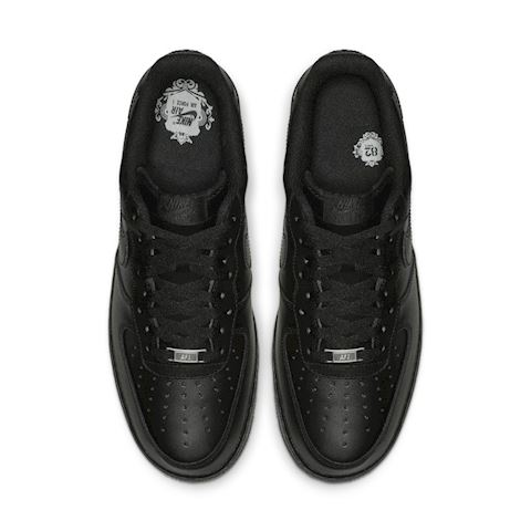 Nike Air Force 1' 07 Men's Shoe - Black Image 4