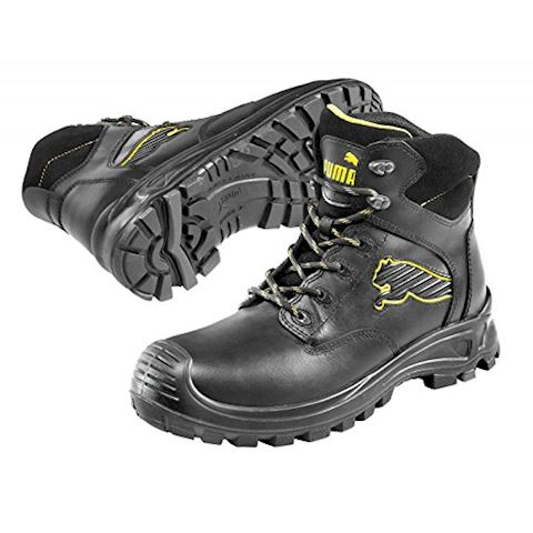 Puma Borneo Black Mid S3 Safety Shoes Image