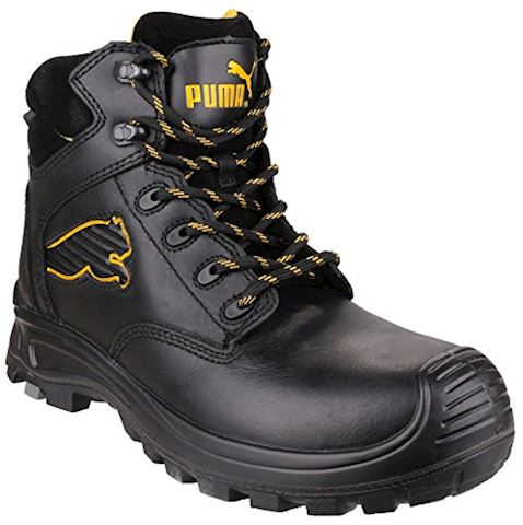 Puma Borneo Black Mid S3 Safety Shoes Image 2