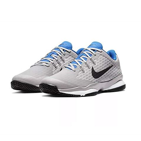 NikeCourt Air Zoom Ultra HC Men's Tennis Shoe - Grey Image 4