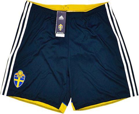 adidas Sweden Mens Away Shorts 2014 Image