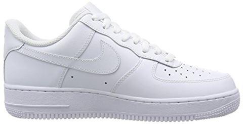 Nike Air Force 1'07 Men's Shoe - White Image 10