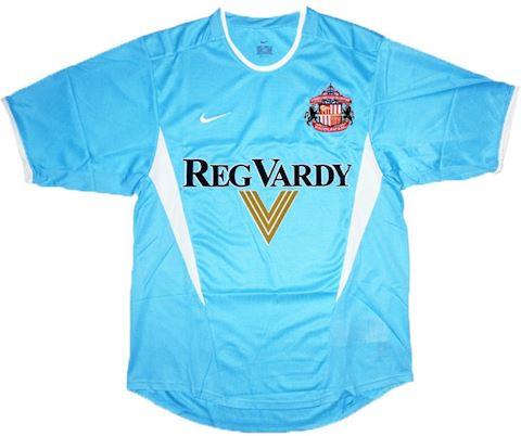 Nike Sunderland Mens SS Away Shirt 2002/03 Image
