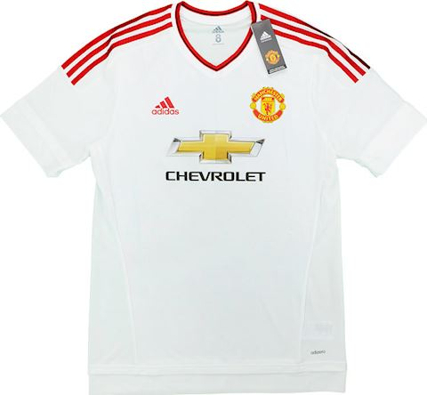 adidas Manchester United Mens SS Player Issue Away European Shirt 2015/16 Image