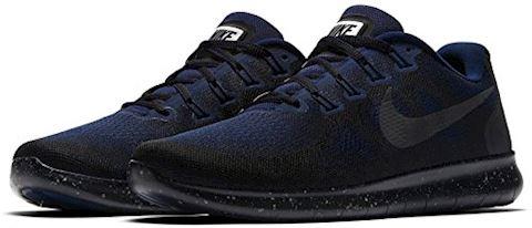 Nike Free RN 2017 Shield Men's Running Shoe - Black Image 2
