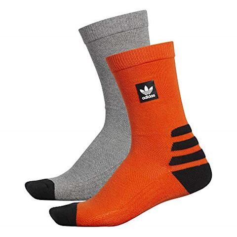 adidas BB Crew Socks 2 Pairs Image