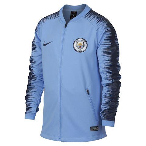 Nike Manchester City FC Anthem Older Kids'Football Jacket - Blue Image