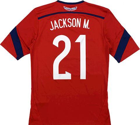 adidas Colombia Mens SS Away Shirt 2014 Image
