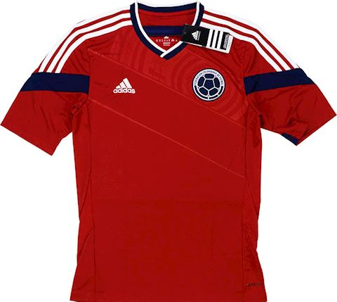 adidas Colombia Mens SS Away Shirt 2014 Image 2