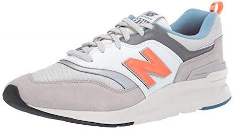 the best attitude 1f9bd b6631 New Balance 997 White/ Orange/ Grey