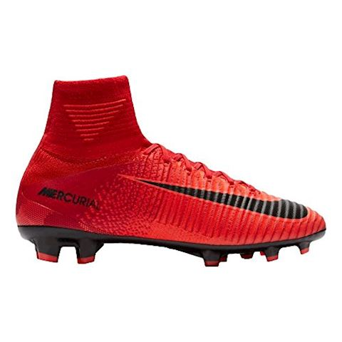 Nike Jr. Mercurial Superfly V Dynamic Fit Older Kids'Firm-Ground Football Boot - Red Image