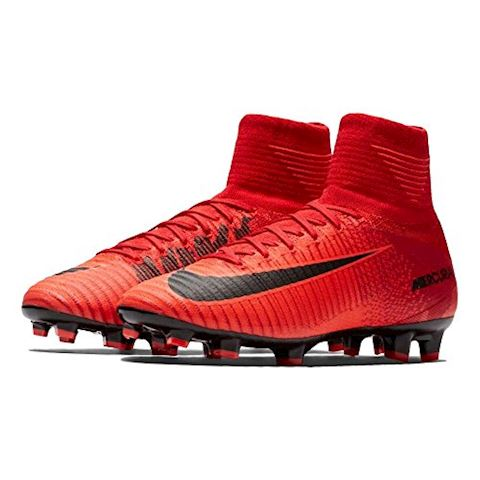 Nike Jr. Mercurial Superfly V Dynamic Fit Older Kids'Firm-Ground Football Boot - Red Image 3