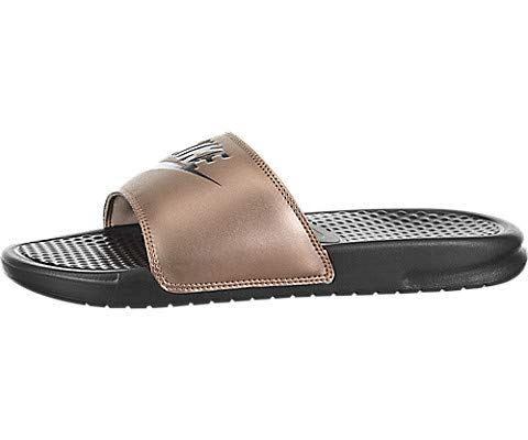 2f0778003c29 Women s Nike Benassi JDI Metallic Red Bronze   Grey Image