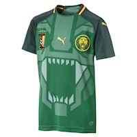 0adad6195c9 Puma Cameroon Kids SS Home Shirt 2018