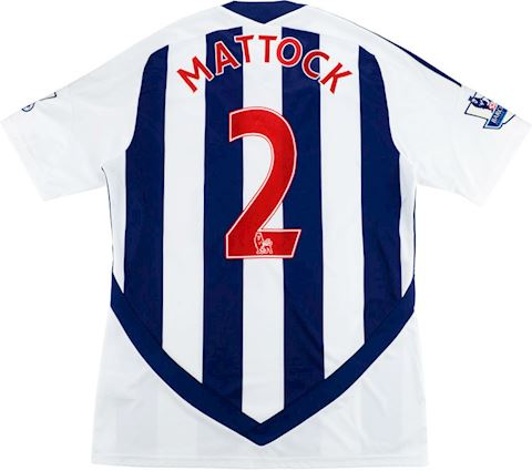 adidas West Bromwich Albion Mens SS Home Shirt 2011/12 Image