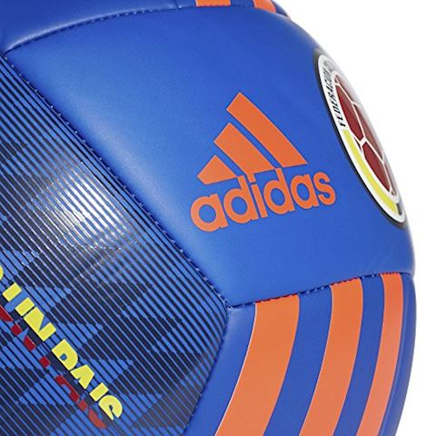 adidas Colombia Football - Black/Bold Blue/Solar Red