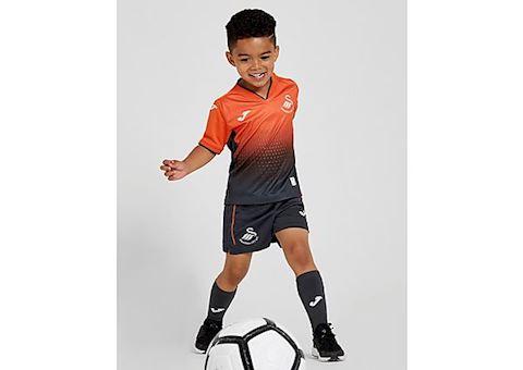 new arrival fe449 90dc7 Joma Swansea City Kids SS Away Mini Kit 2018/19