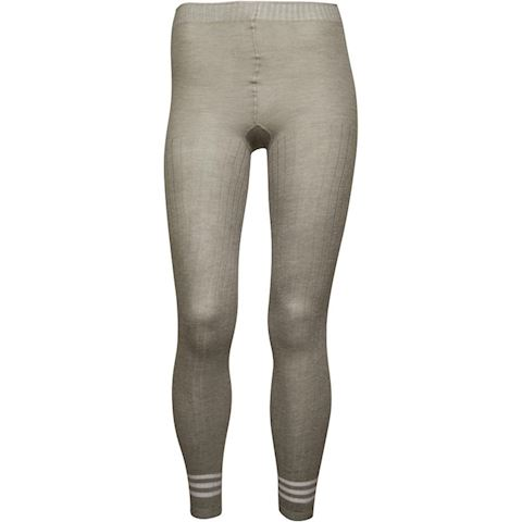 32cad172a7336 adidas Originals Womens 3 Stripes Tights Medium Grey Heather Image