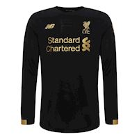 de0c33020d8 New Balance Liverpool Kids LS Goalkeeper Home Shirt 2019 20