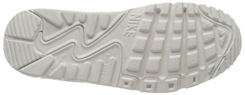 Nike Air Max 90 Leather Older Kids' Shoe - White Image 3