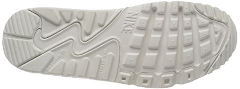 Nike Air Max 90 Leather Older Kids' Shoe - White Image 10