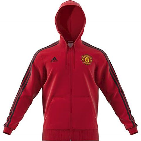 adidas Manchester United 3-Stripes Hoodie Image