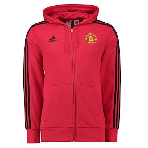 adidas Manchester United 3-Stripes Hoodie Image 2