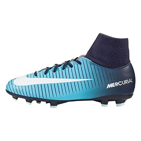 Nike Jr. Mercurial Victory VI Dynamic Fit Younger/Older Kids'Firm-Ground Football Boot - Blue Image