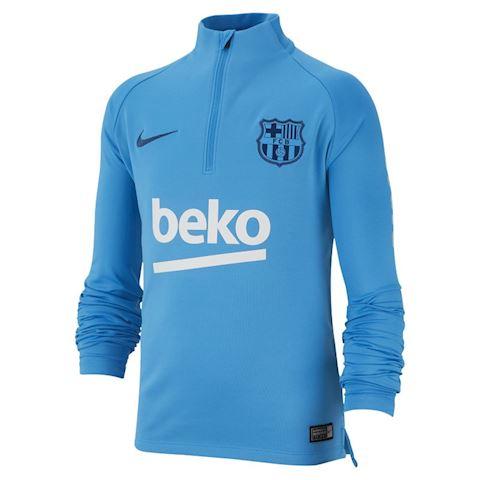 best service 1b334 69143 Nike FC Barcelona Dri-FIT Squad Drill Older Kids' Long-Sleeve Football Top  - Blue