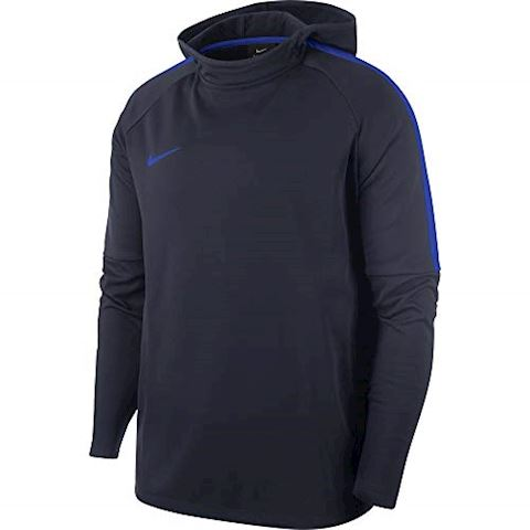 Nike Hoodie Dry Academy - Obsidian/Hyper Royal Image 2