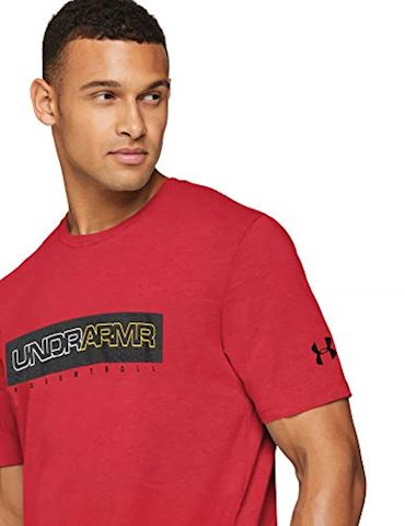 Under Armour Men's UA Baseline Wordmark Short Sleeve T-Shirt Image 3