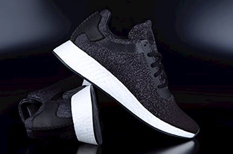 adidas Originals x Wings + Horns NMD_R2 Primeknit Trainers Core Black/Utility Core Black/Grey Five Image 2