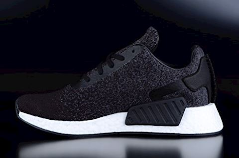 adidas Originals x Wings + Horns NMD_R2 Primeknit Trainers Core Black/Utility Core Black/Grey Five Image 4
