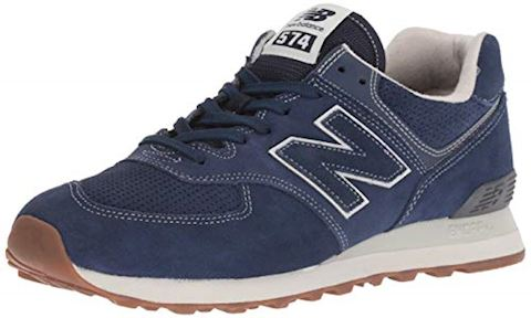 New Balance  ML574  women's Shoes (Trainers) in Blue Image