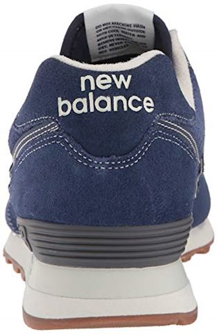 New Balance  ML574  women's Shoes (Trainers) in Blue Image 2