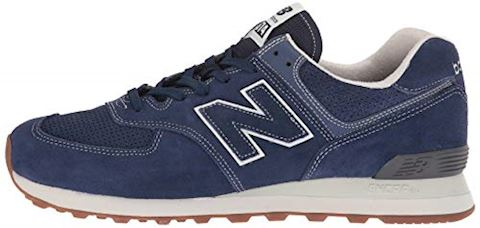 New Balance  ML574  women's Shoes (Trainers) in Blue Image 5
