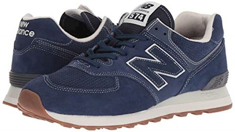New Balance  ML574  women's Shoes (Trainers) in Blue Image 6