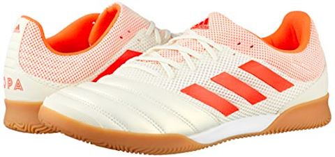 adidas Copa 19.3 IN Initiator - Off White/Solar Red/Core Black Image 14