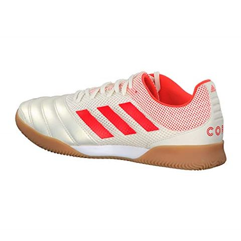 adidas Copa 19.3 IN Initiator - Off White/Solar Red/Core Black Image 3