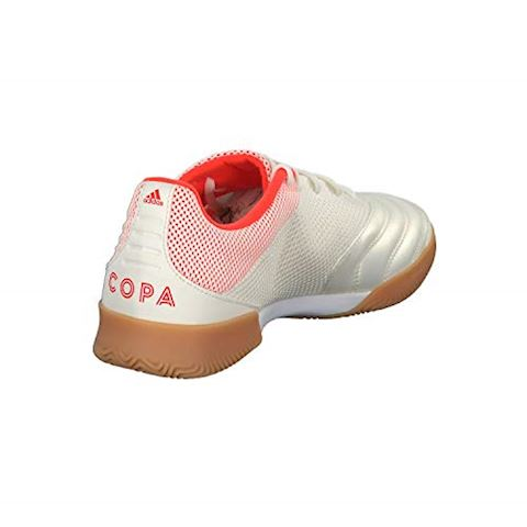 adidas Copa 19.3 IN Initiator - Off White/Solar Red/Core Black Image 6