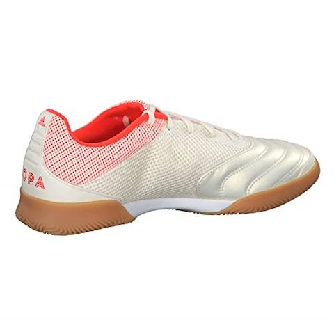 adidas Copa 19.3 IN Initiator - Off White/Solar Red/Core Black Image 7