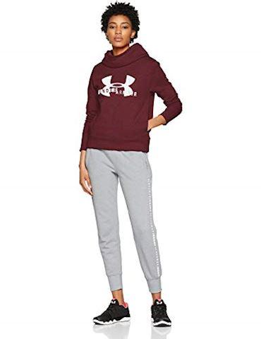 Under Armour Women's UA Rival Fleece Logo Hoodie Image 3
