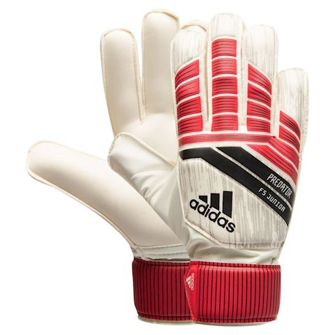 adidas Goalkeeper Gloves Predator FS Junior Cold Blooded - Real Coral/Core Black/Grey Kids